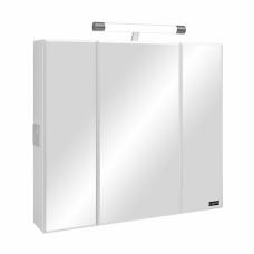 Зеркальный шкаф Санта Стандарт 80 свет